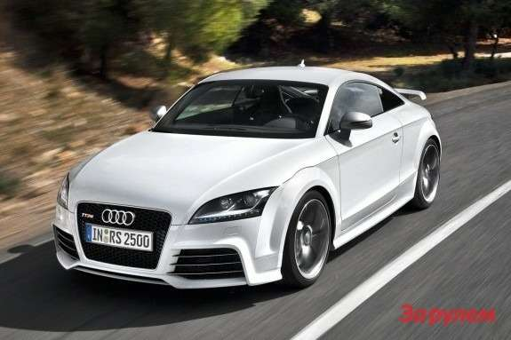 Audi TT RS side-front view 2