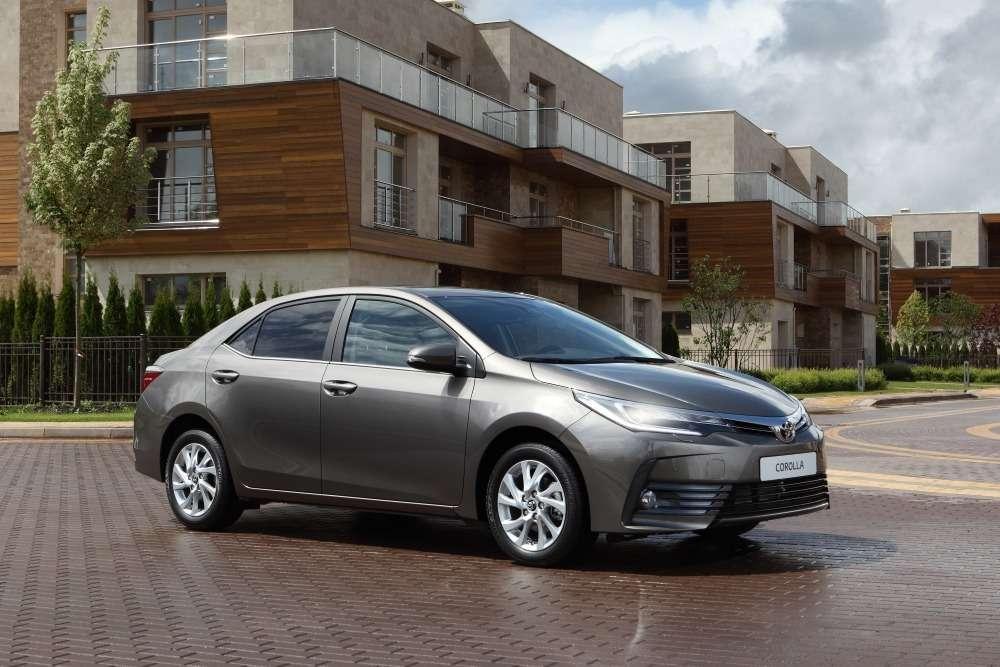 Обновленная Toyota Corolla: цены икомплектации вРоссии— фото 604803