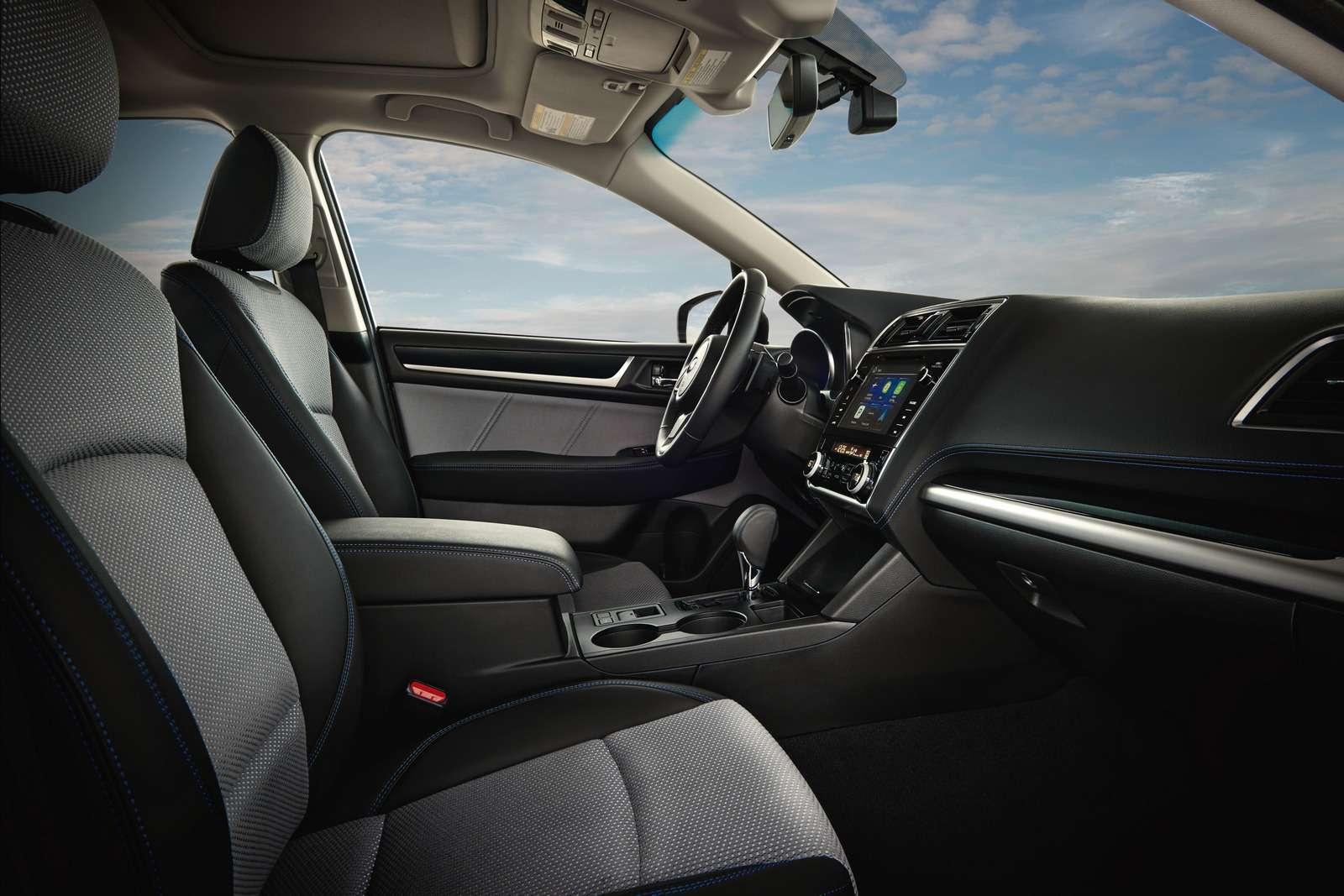 Наследие Америки: Subaru обновила седан Legacy— фото 702294