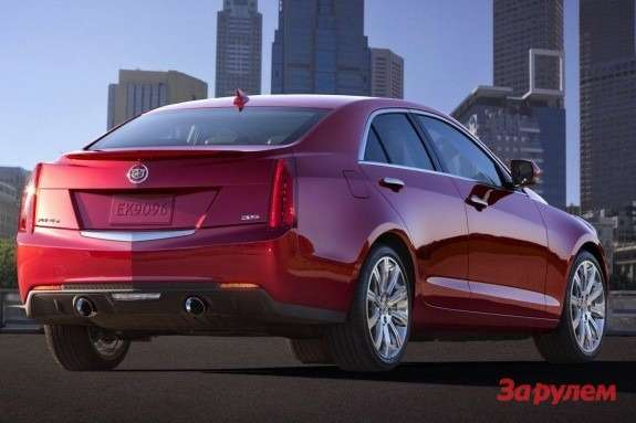 Cadillac ATS side-rear view