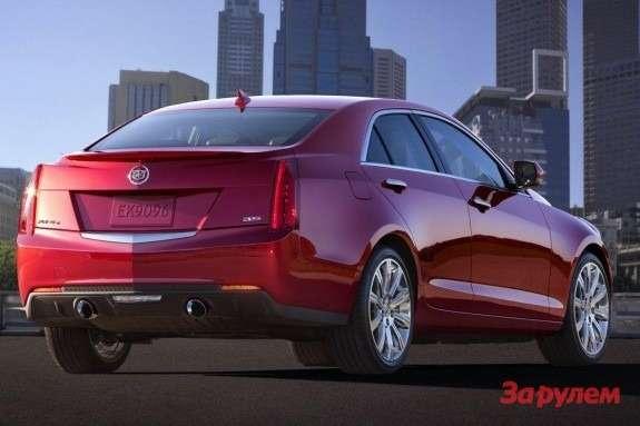 Cadillac ATS side-rear view