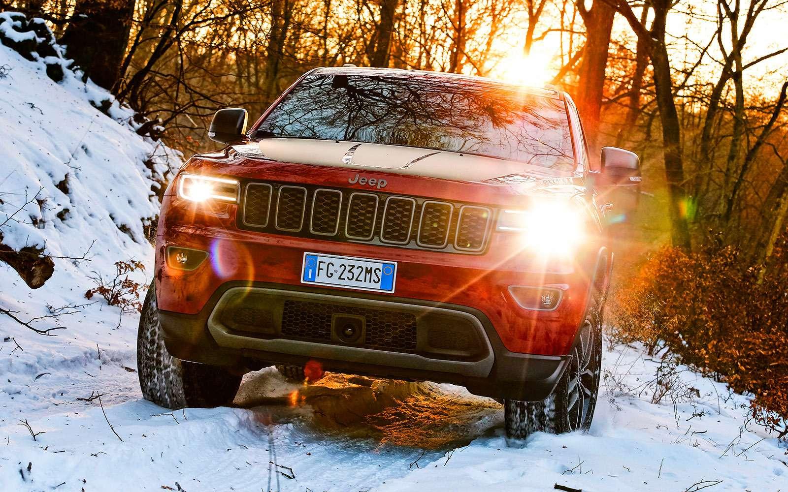 Обновленный Jeep Grand Cherokee: как Данди— фото 735739
