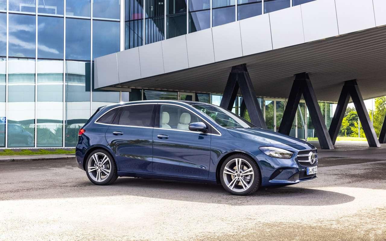 Новый Mercedes-Benz B-класса: онполучил опции отроскошного S-класса— фото 910417