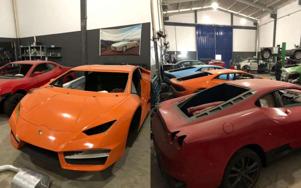 Анекдот недели: пойманы производители фальшивых Ferrari иLamborghini— фото 986459