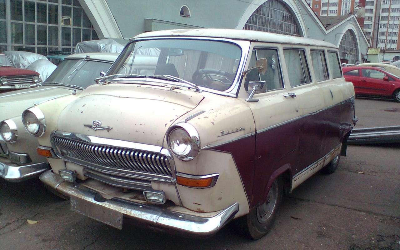 11модификаций Волги ГАЗ-21, которых какбы не было— фото 970886