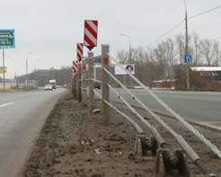 Встречные полосы нафедеральных трассах разделят натянутыми тросами www.zr.ru