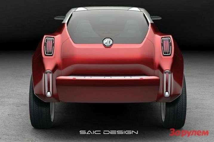 SAIC-MG-Icon-Concept-Rear