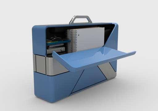 В Америке придумали чемодан-электросамокат