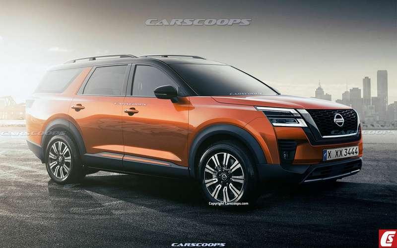 Nissan Pathfinder будет снова выглядеть как внедорожник