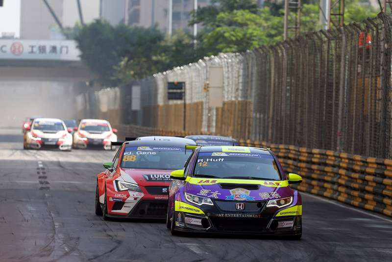 TCRseries Macau Guia Race, 19— 22November 2015