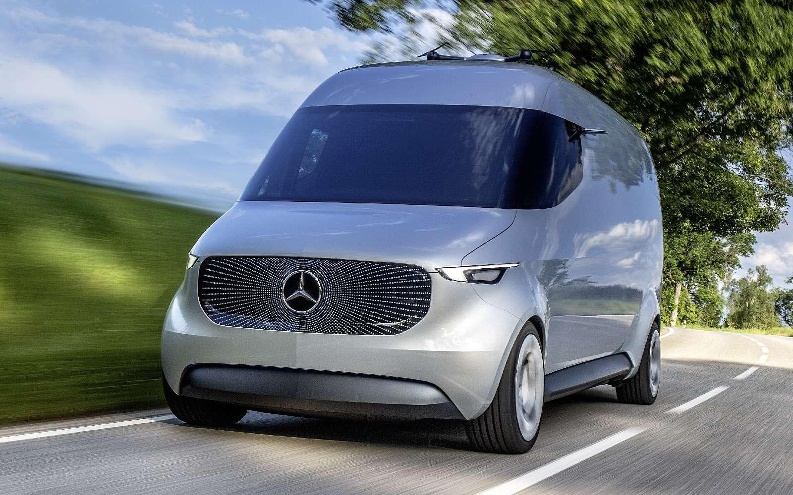 Mercedes-Benz лишит водителей руля, нонеработы— фото 631838