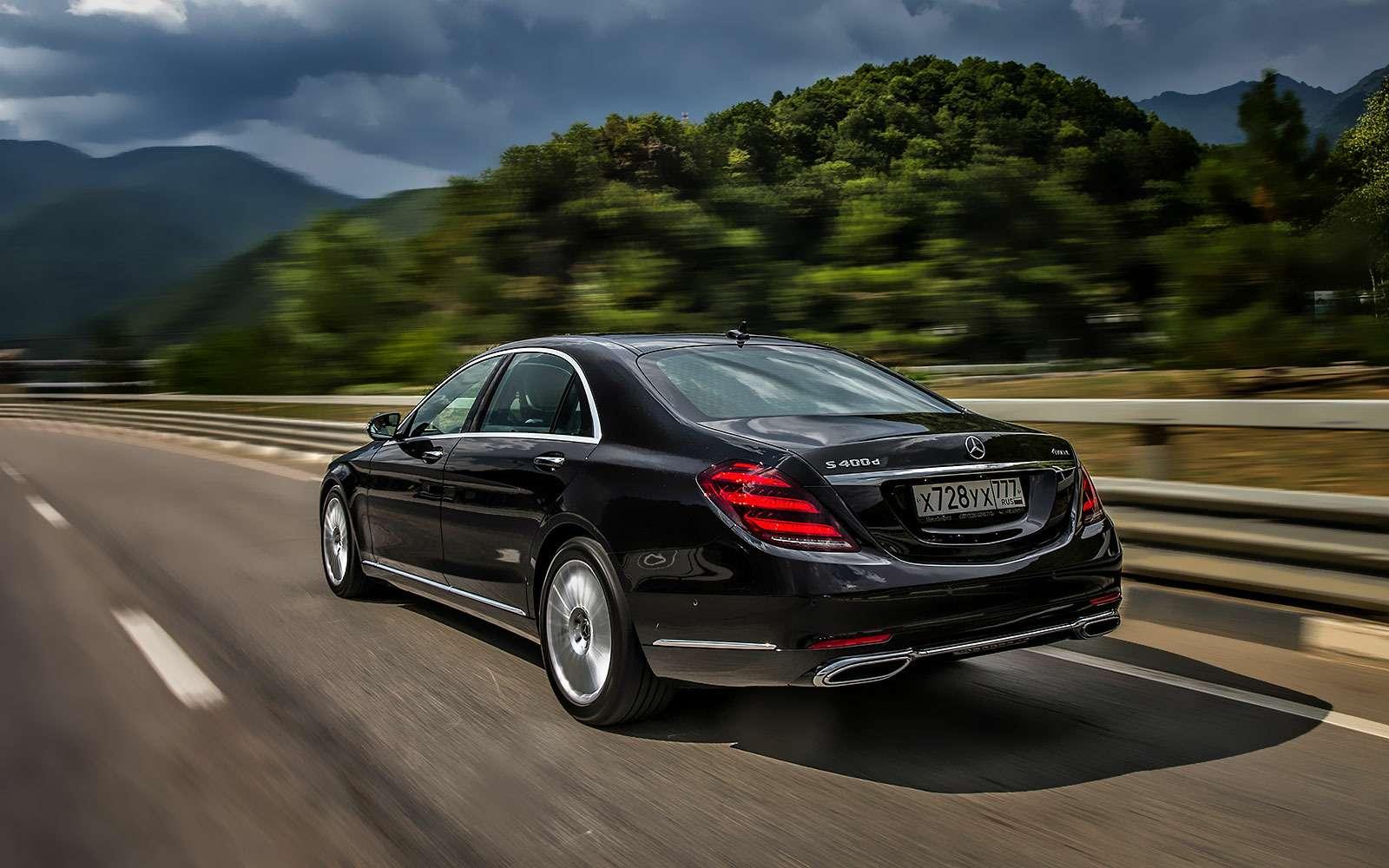 Mercedes-Benz S-класса: собновленным лицом иновыми моторами— фото 786205