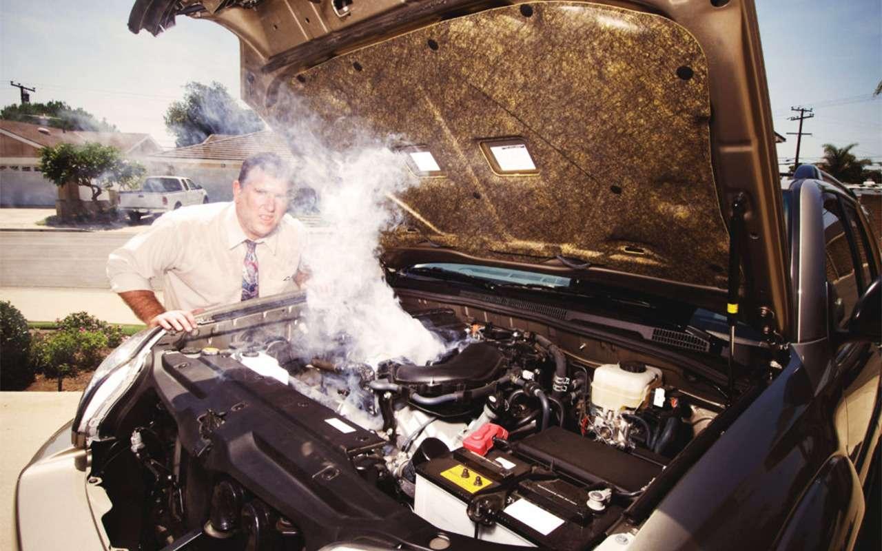 Почему автомобили помирают вжару: 10летних проблем— фото 875307