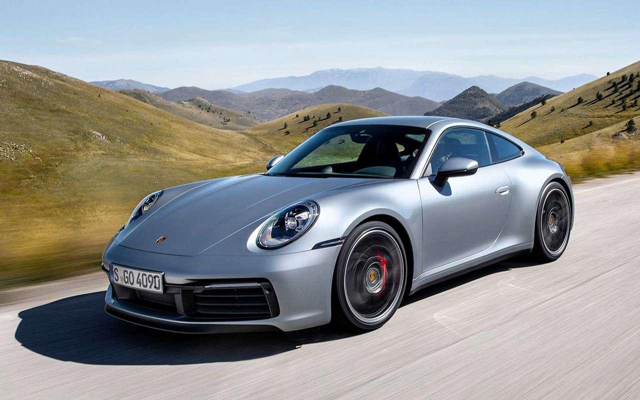 Новый Porsche 911: классический облик исовременная начинка— фото 926961