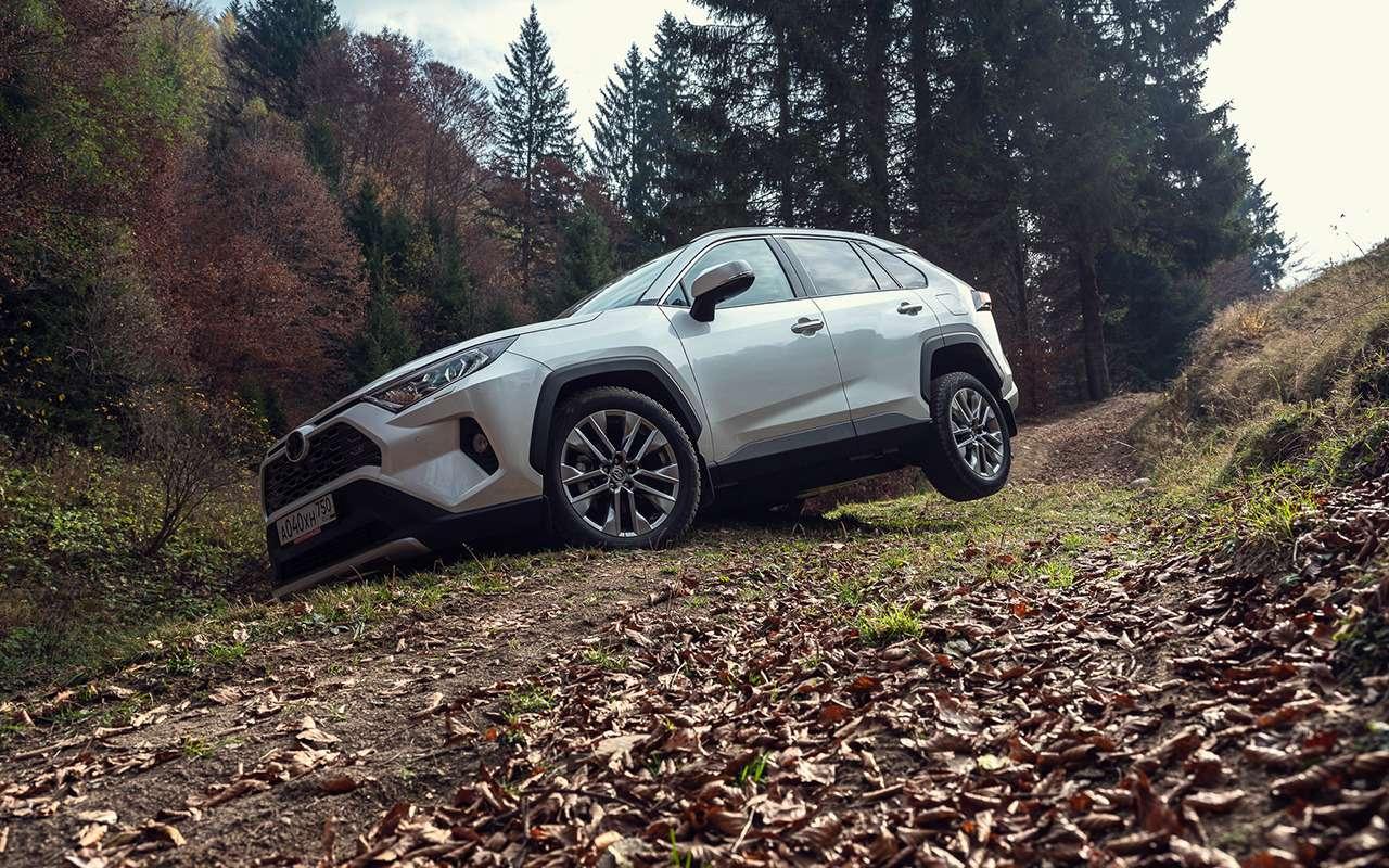 Первый тест-драйв Toyota RAV4 нового поколения— фото 1006009