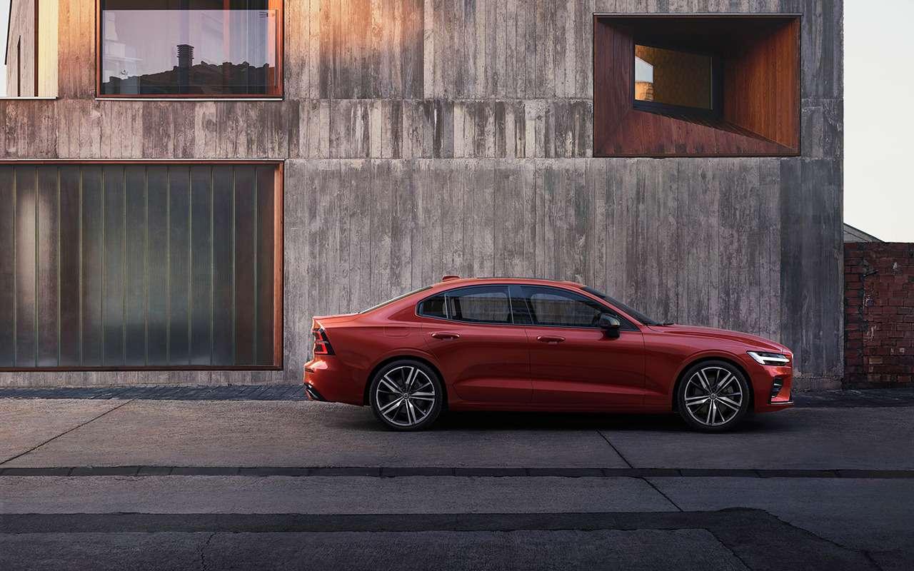 Новый Volvo S60: известны российские цены— фото 977033