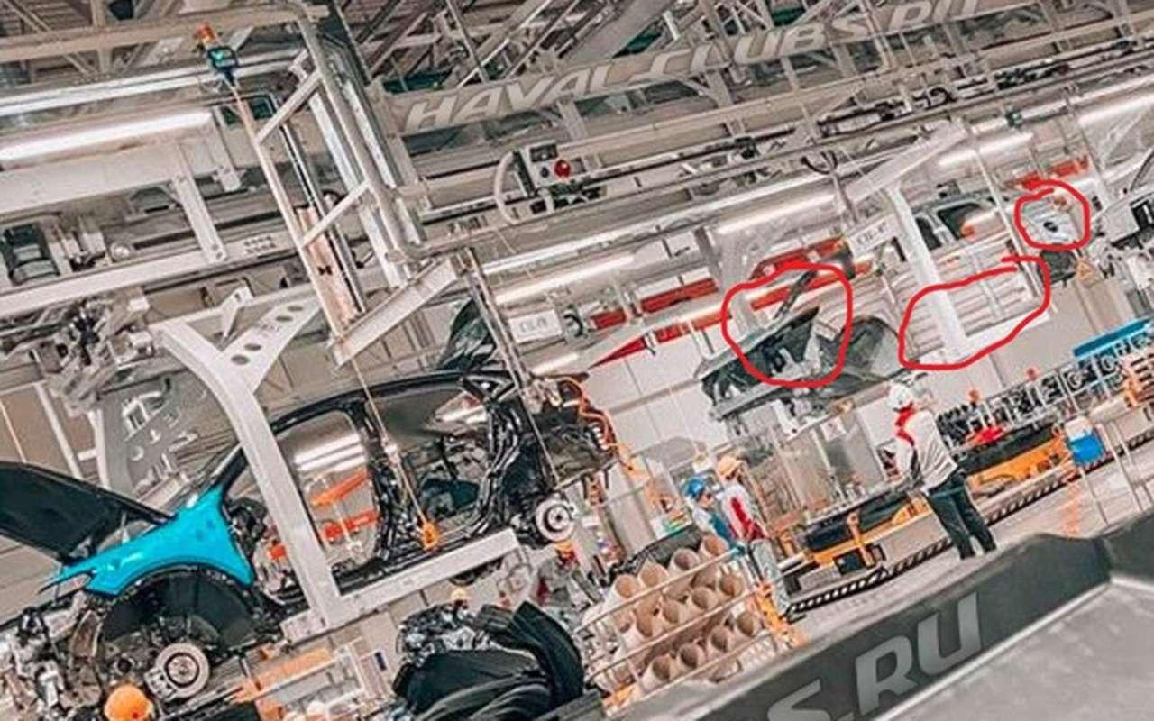 Кроссовер Haval H6 будут собирать в России - фото 1176200