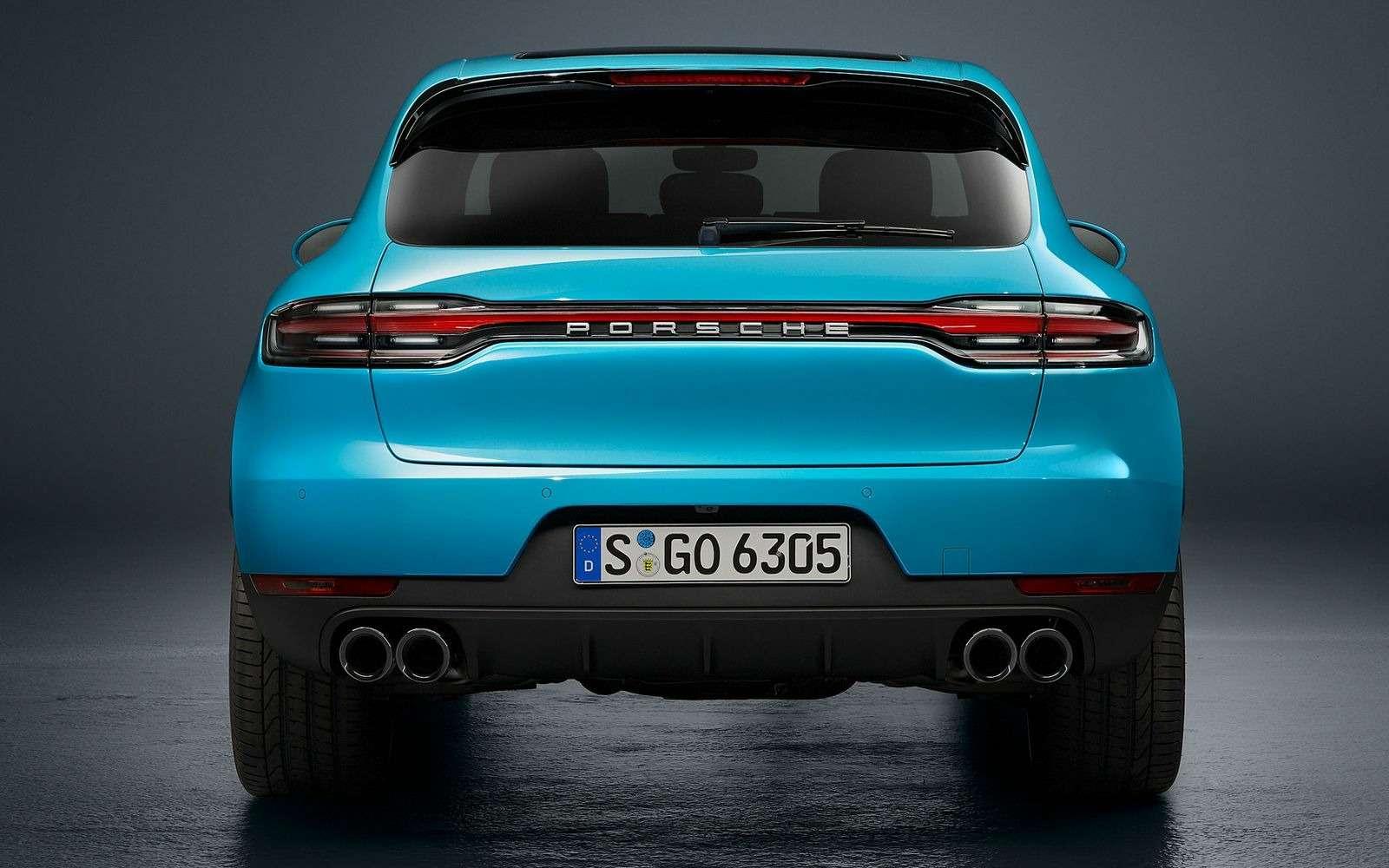 Обновленный Porsche Macan: широкий экран имотор отПанамеры— фото 890163