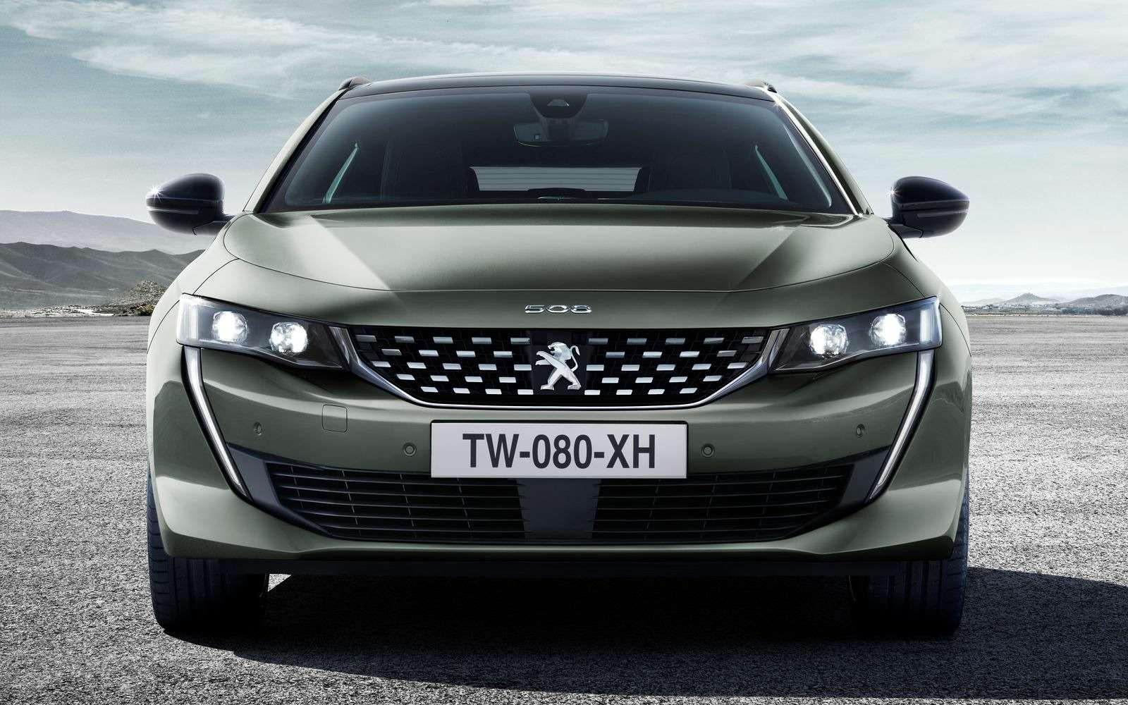 Смотреть изавидовать: представлен красивейший универсал Peugeot 508SW— фото 876710
