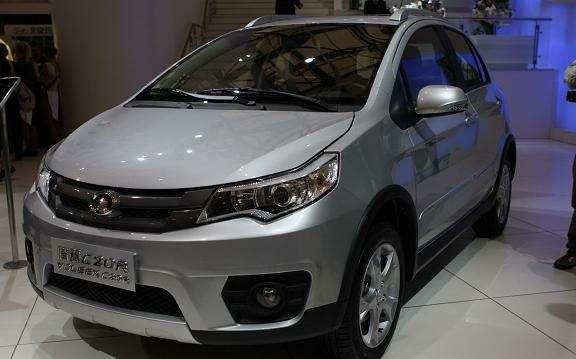 Voolex C20R, новый SUV-компакт, представили вШанхае