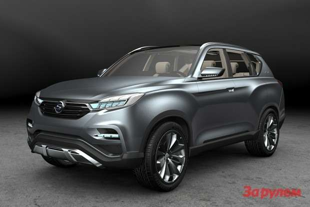 SsangYong LIV 1Concept side front view