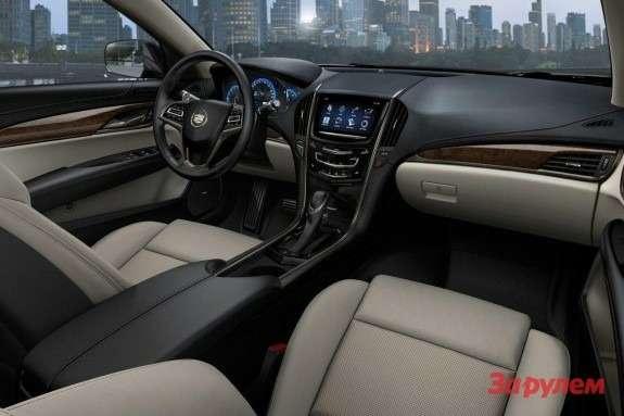 Cadillac ATS inside