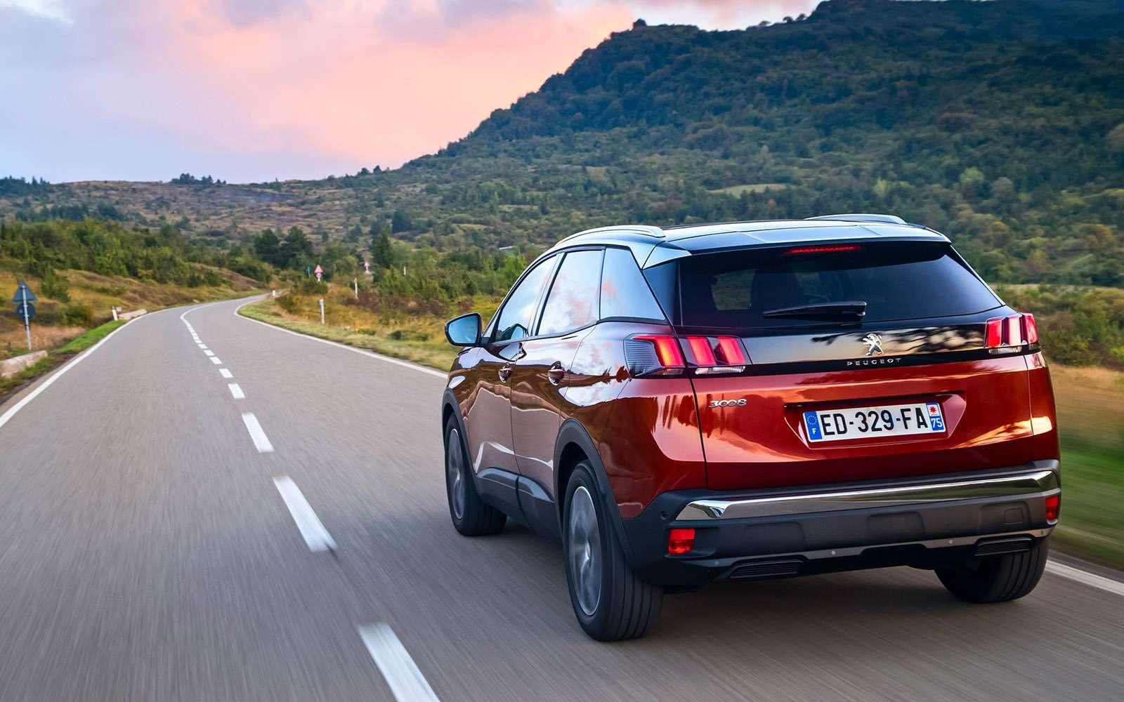 Peugeot 3008 нового поколения: теперь точно кроссовер!— фото 671986