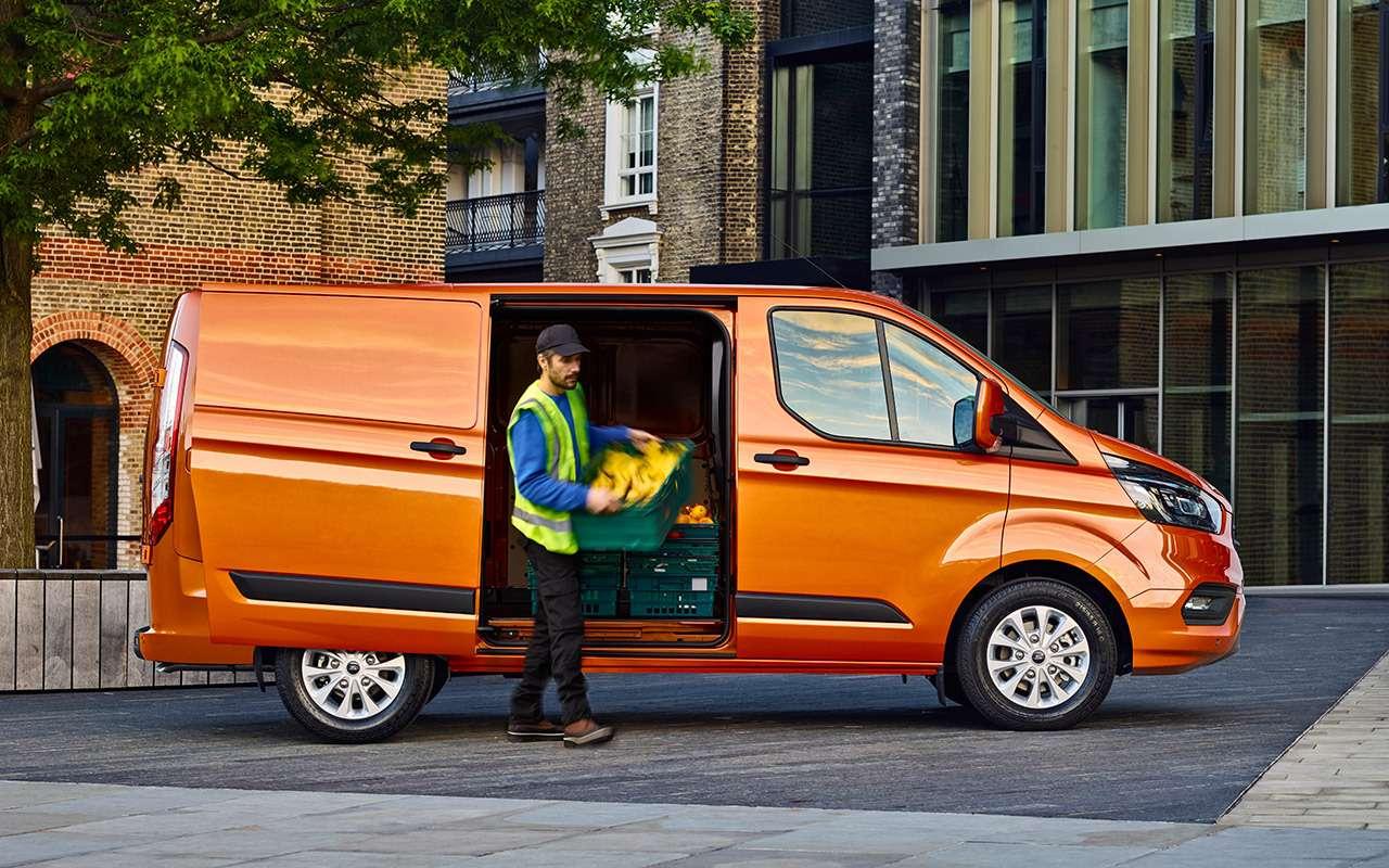 Обновленный Ford Transit Custom— тест-драйв ЗР— фото 841201