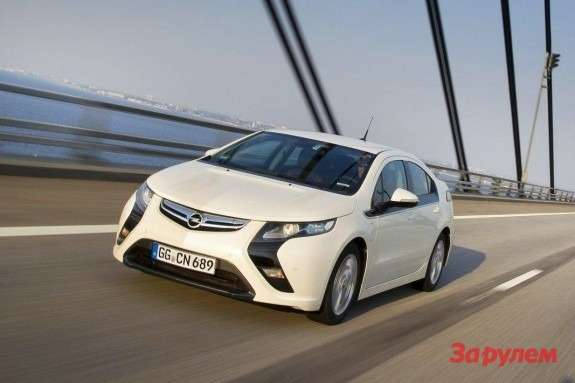 Opel Ampera side-front view
