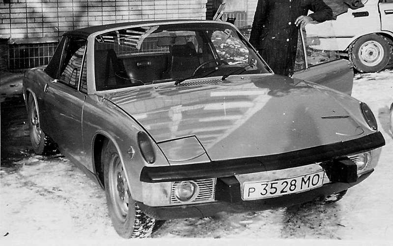 Porsche 914, пренадлежавший Александру Вершинскому