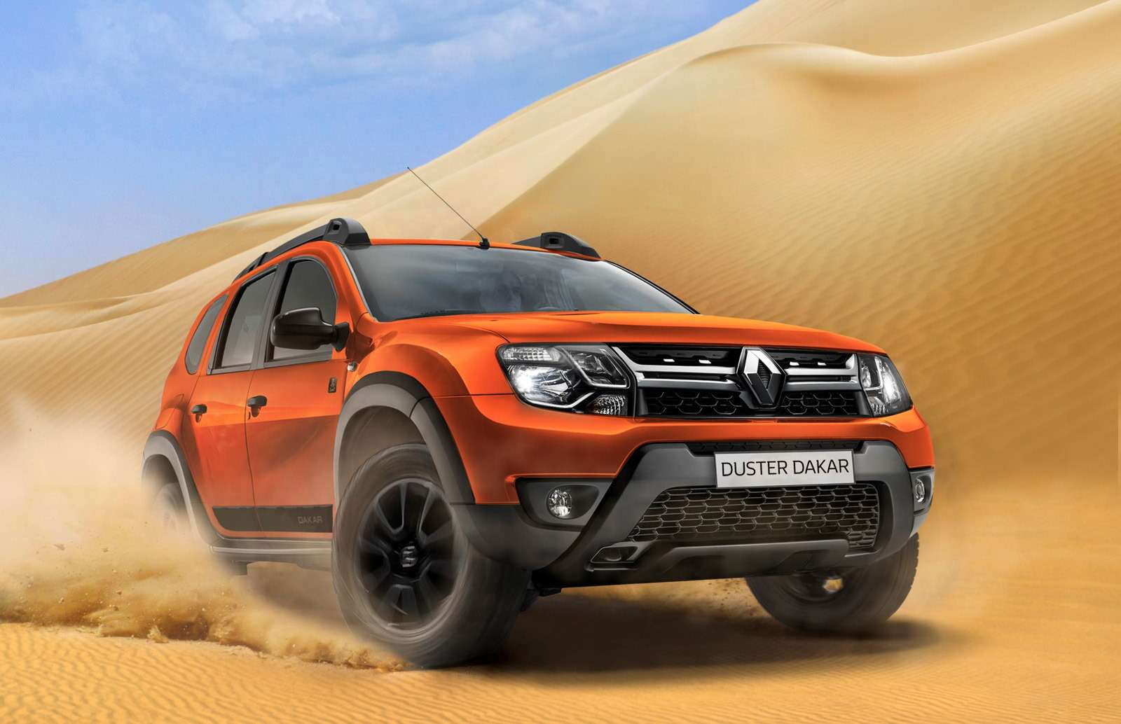 Обновленная спецсерия Renault Duster Dakar— уже вавтосалонах— фото 871373