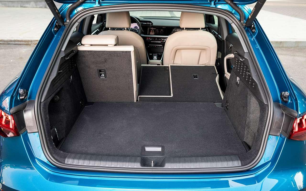 Новый Audi A3: вам седан или Sportback?— фото 1272060