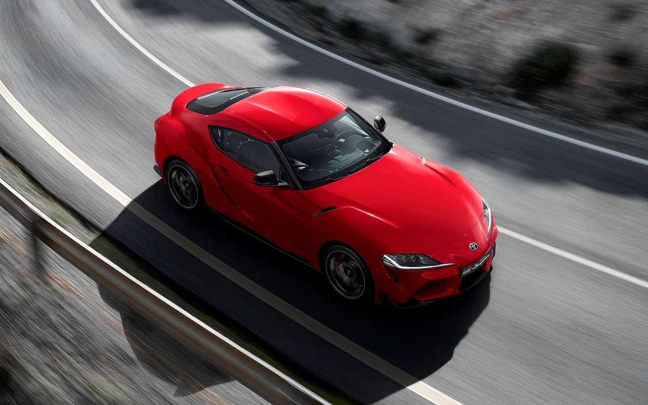 Новая Toyota Supra: комплектации ицены— фото 978215