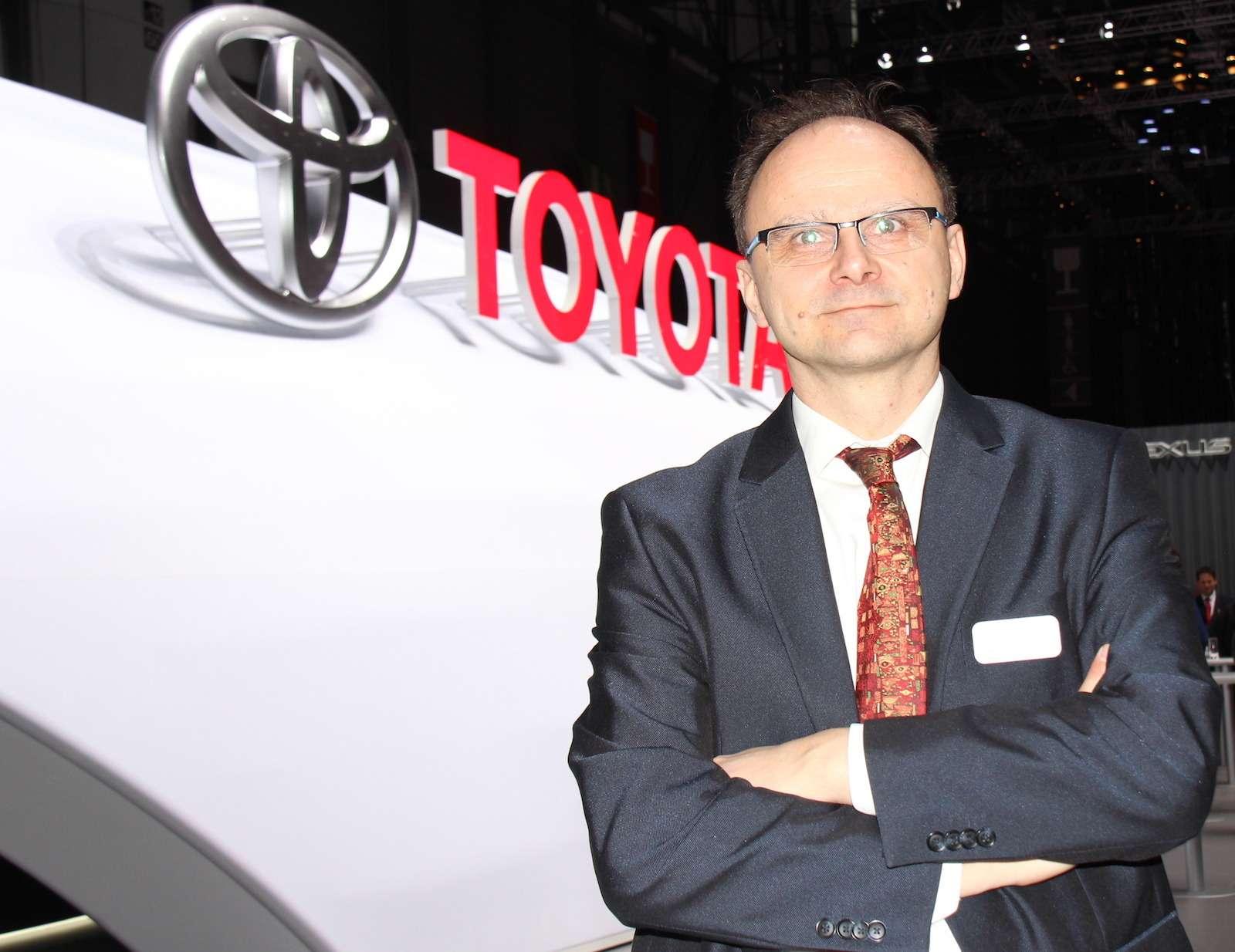 Геральд Киллманн, Toyota: Гибриды придут насмену дизелям— фото 856367