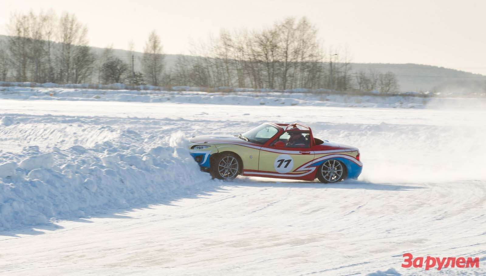 Mazda MX 5 Ice Race 2013      113