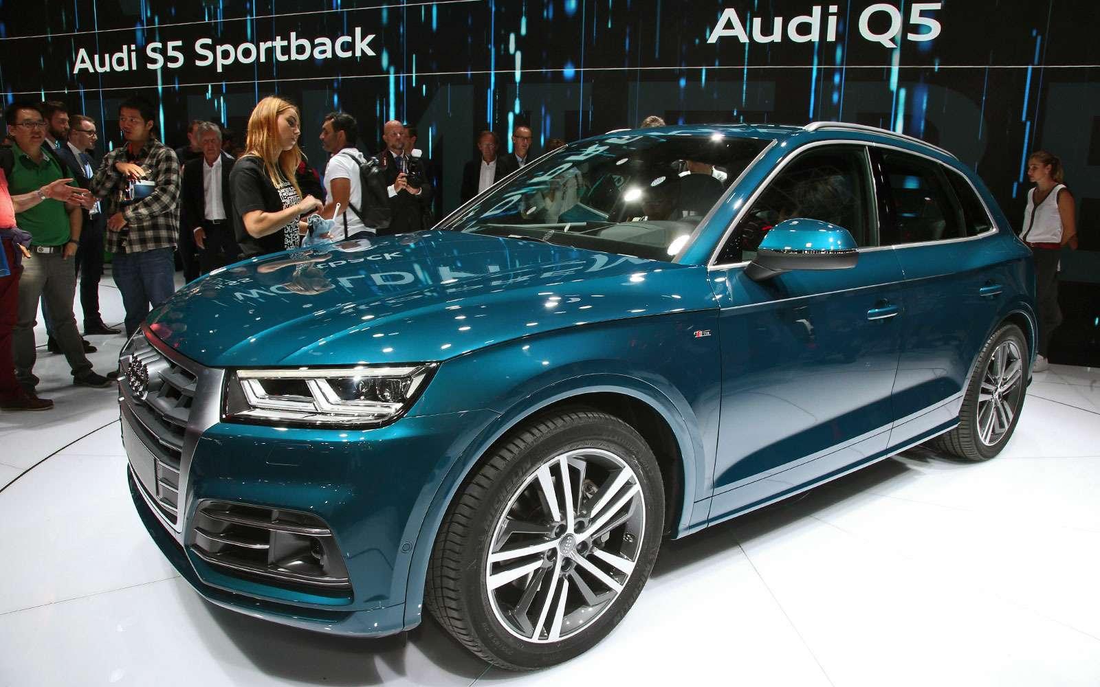 Младший брат: новый Audi Q5начал принимать комплименты— фото 641856