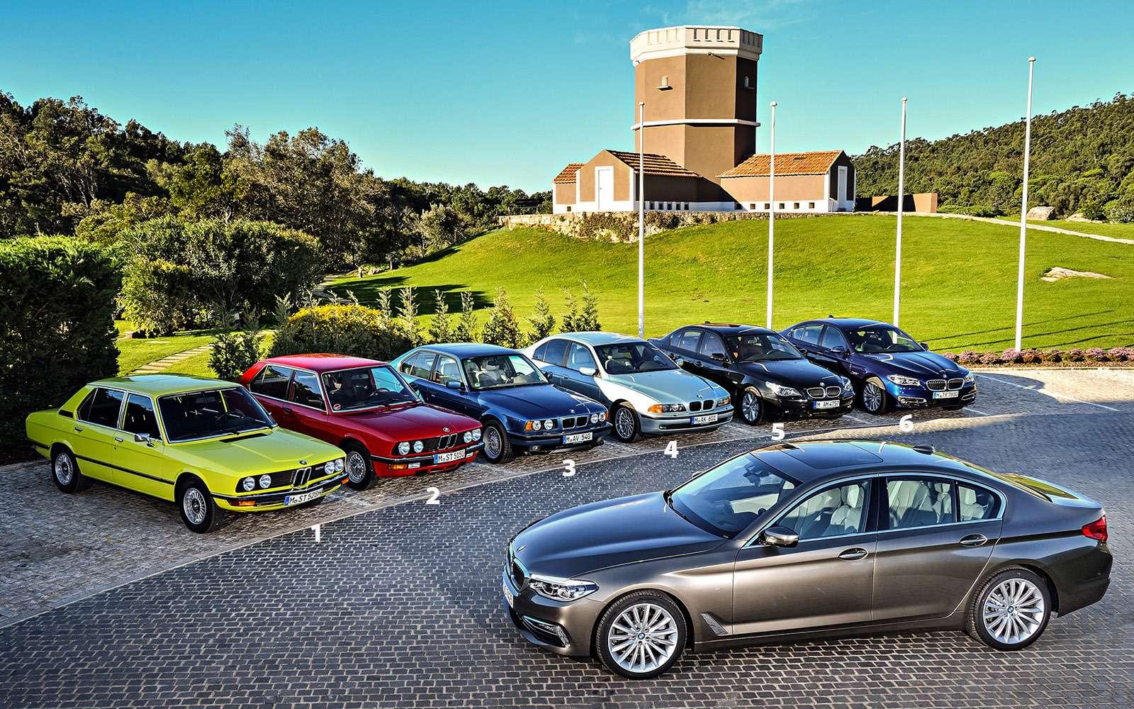 Тест новой «пятерки» BMW: большой брат— фото 685125