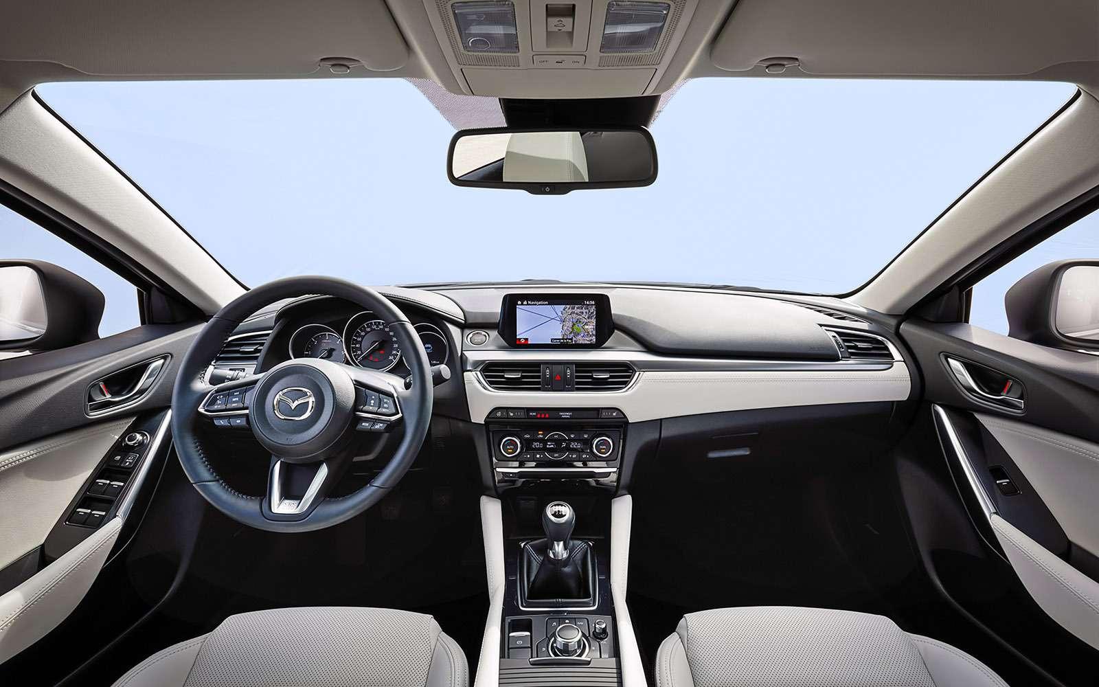 Обновленная Mazda 6: тонкая настройка— фото 657881