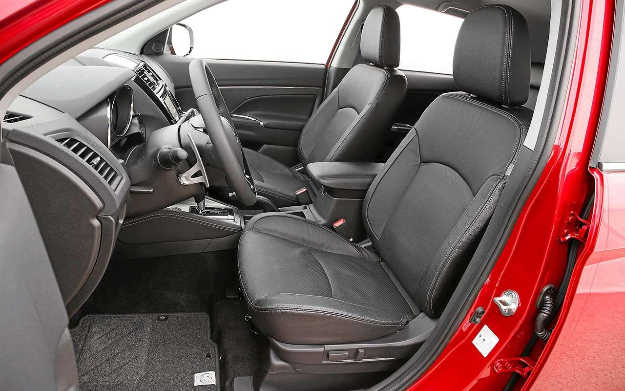 Новый Subaru XVпротив Nissan Qashqai иMitsubishi ASX— большой тест ЗР— фото 825169