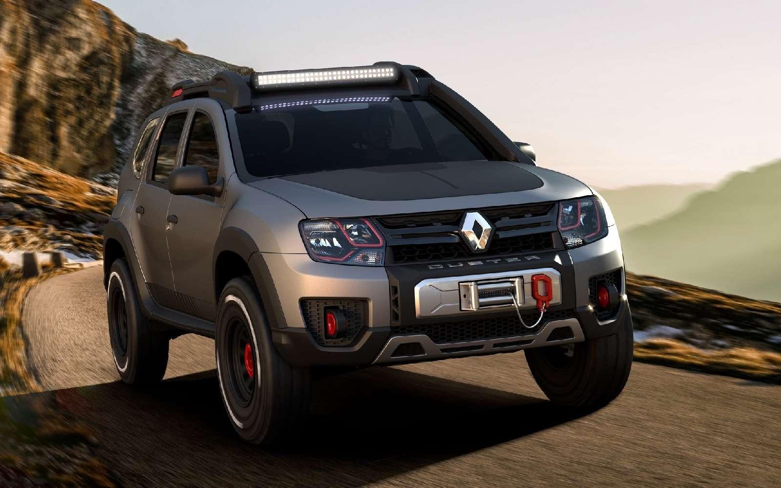 Экстремальный Renault Duster показали невтой стране— фото 661149