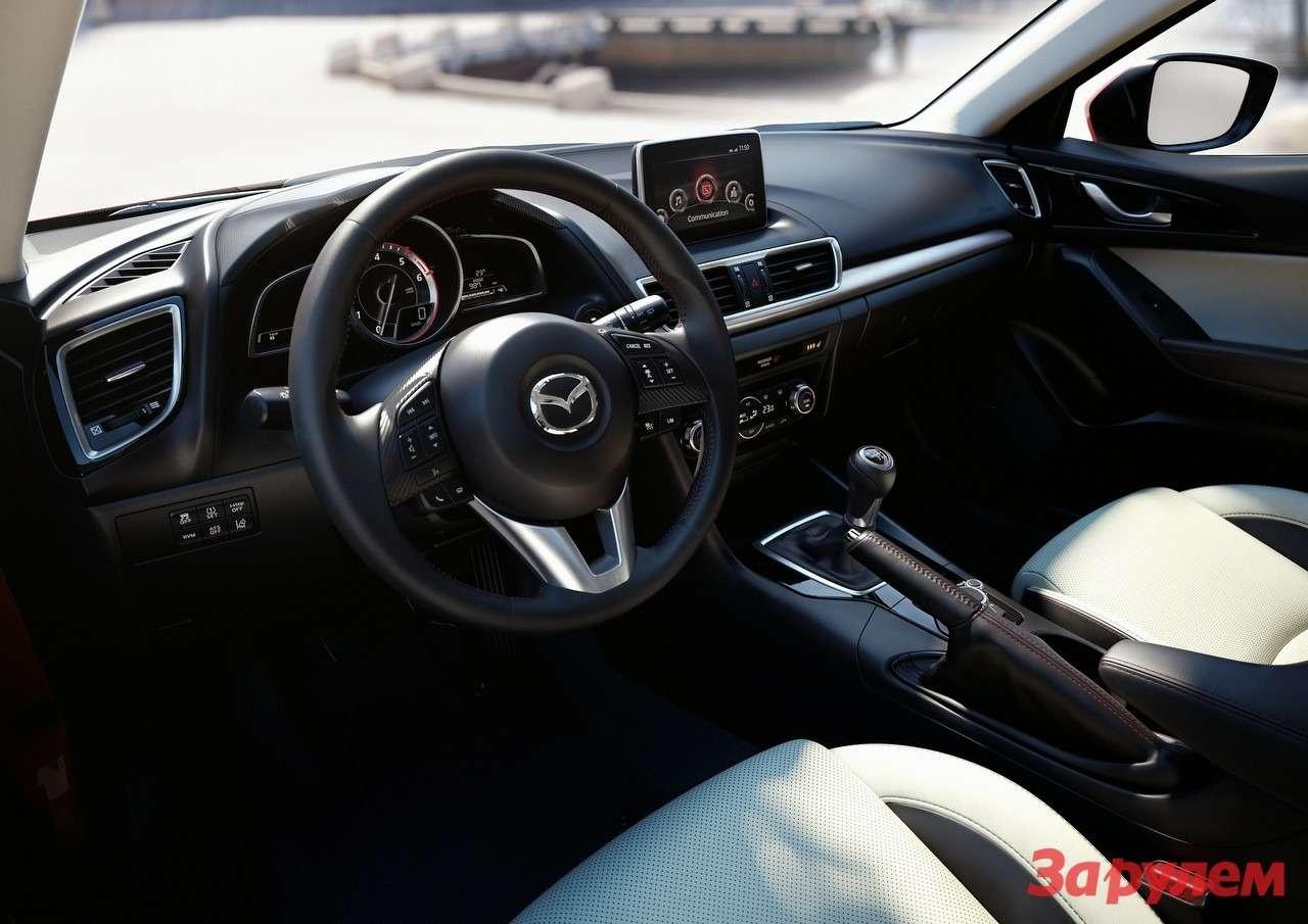 Mazda3 Hatchback 2013 interior 01ru jpg72