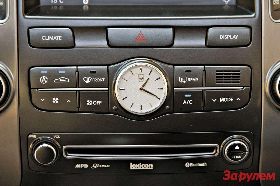 Hyundai Equus: парадный выезд— фото 157735