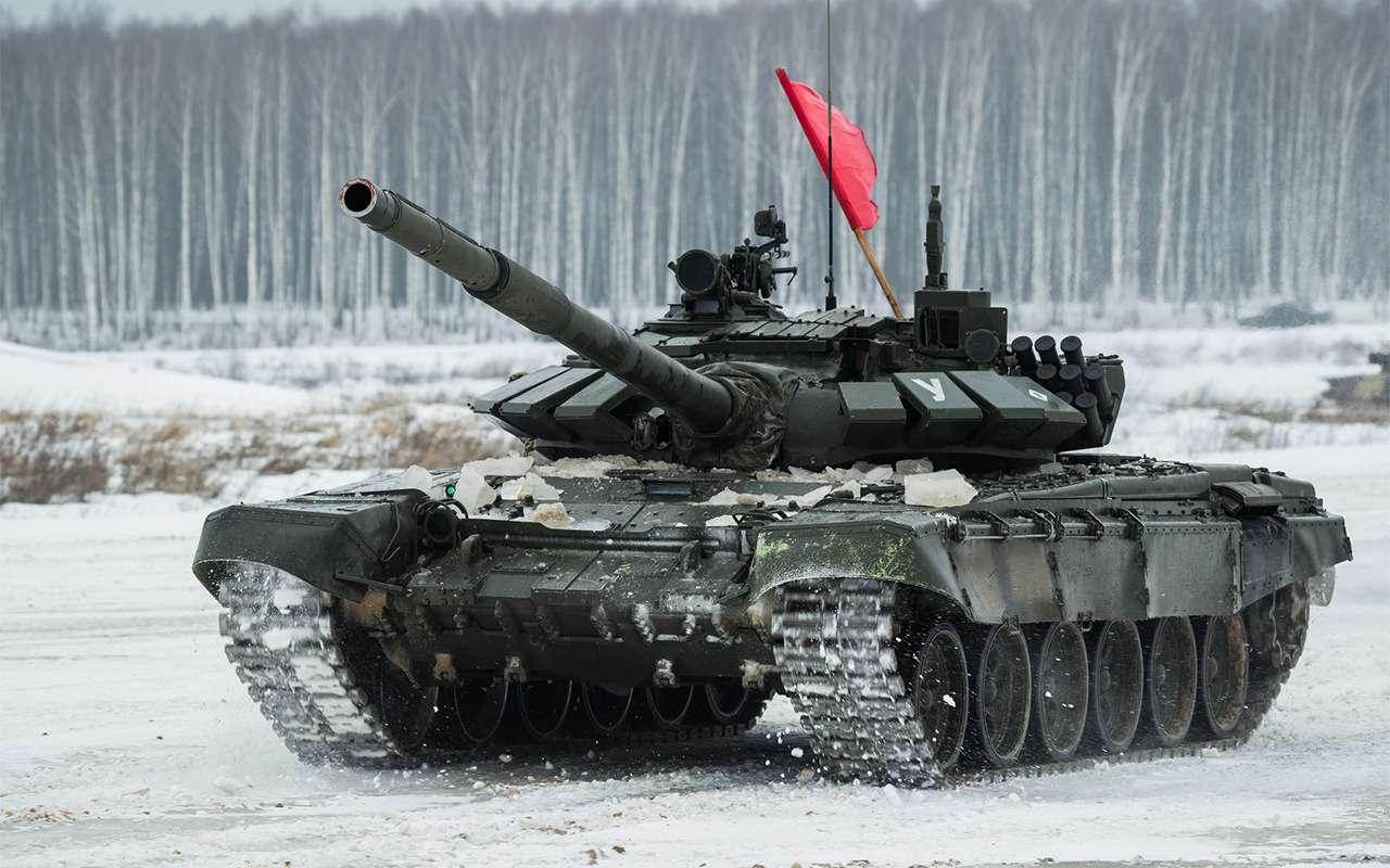 НашТ-72Б3 против немецкого Леопарда-2: пришельцы изпрошлого— фото 864029