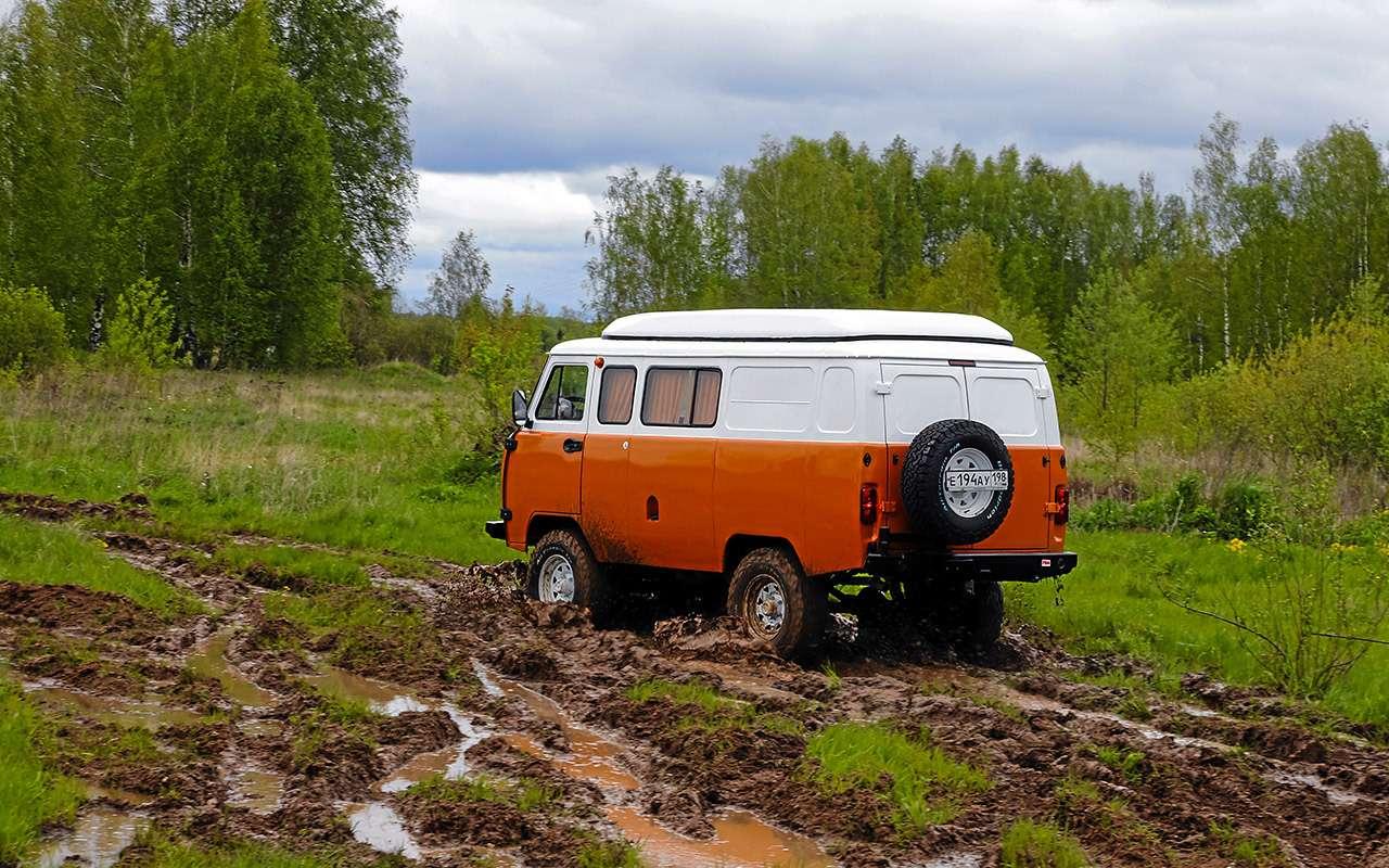 Самый дорогой УАЗ (за2миллиона)— большой тест— фото 1149785