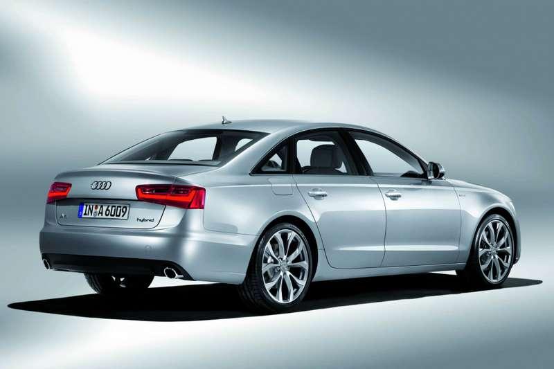 Audi A6hybrid rear_large_no_copyright