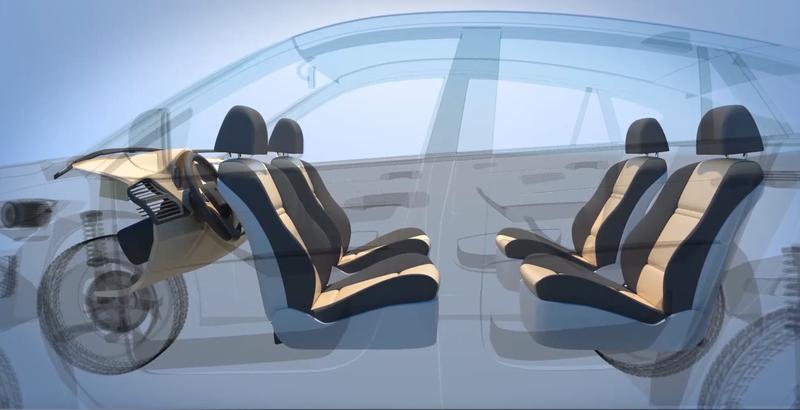 Концепт салона-трансформера Ford
