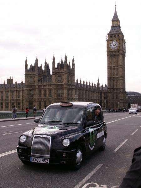 Водородные такси получили прописку вЛондоне