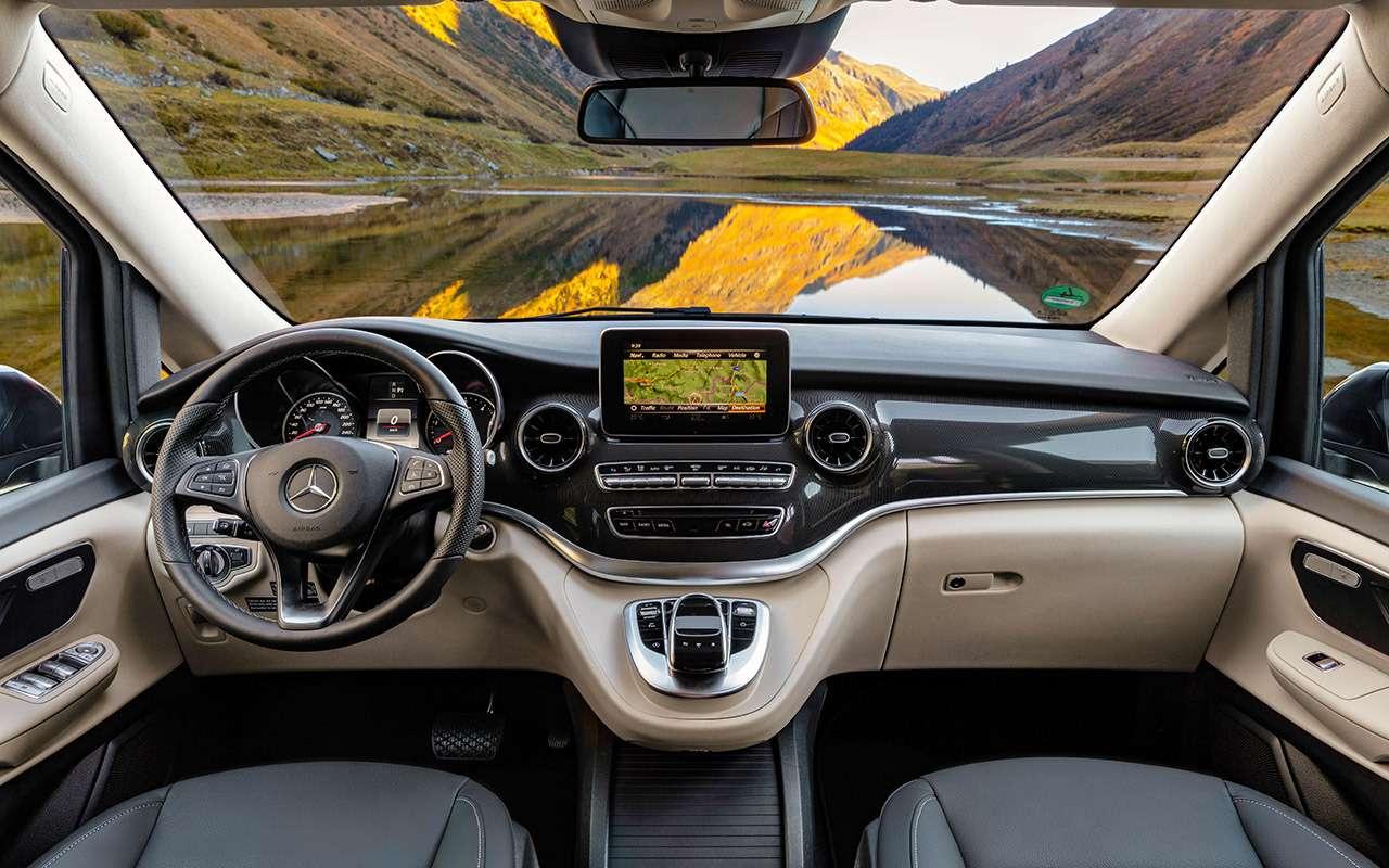 Mercedes-Benz V‑класса: изменения после рестайлинга— фото 955001