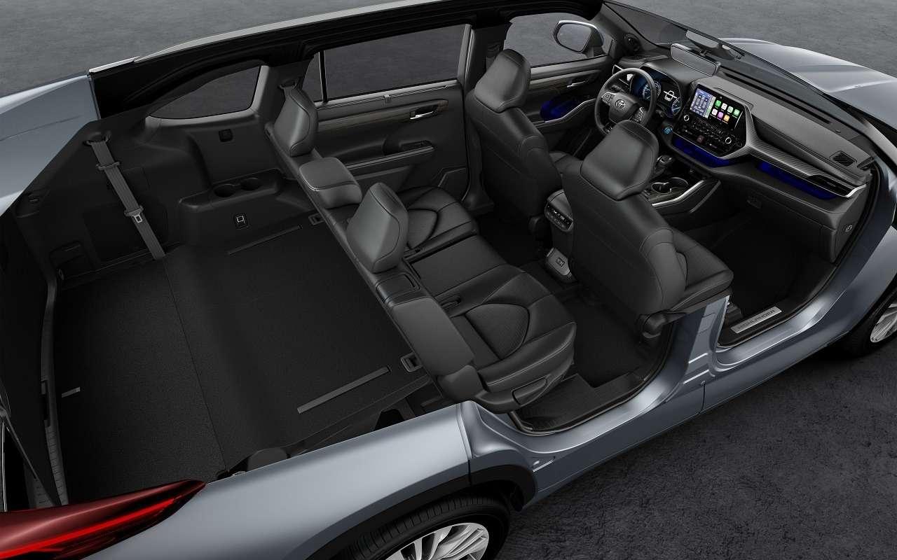 Новый Toyota Highlander: впродаже слета 2020 года— фото 1122151