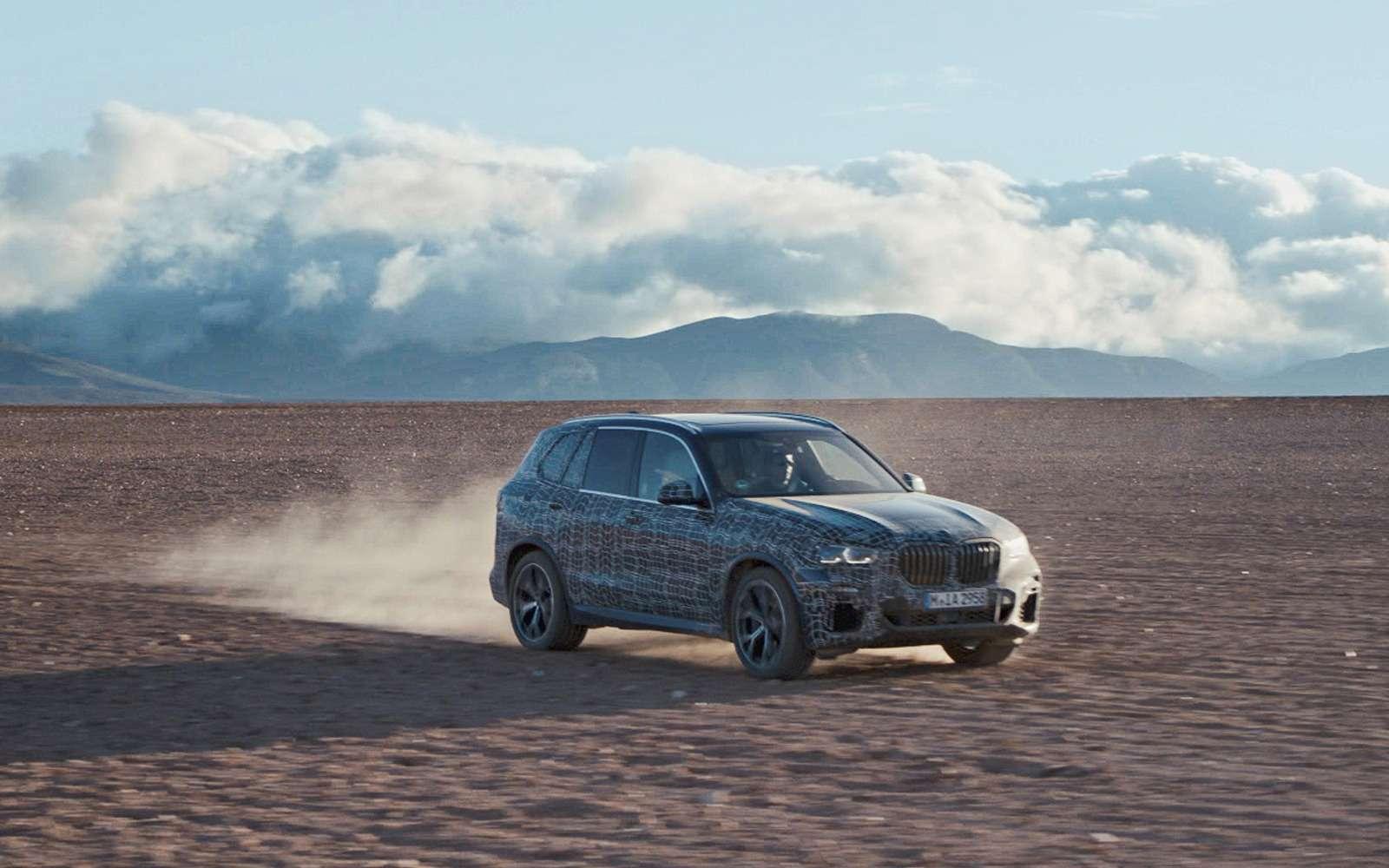 Новый BMW X5: первые фото иинформация— фото 873040